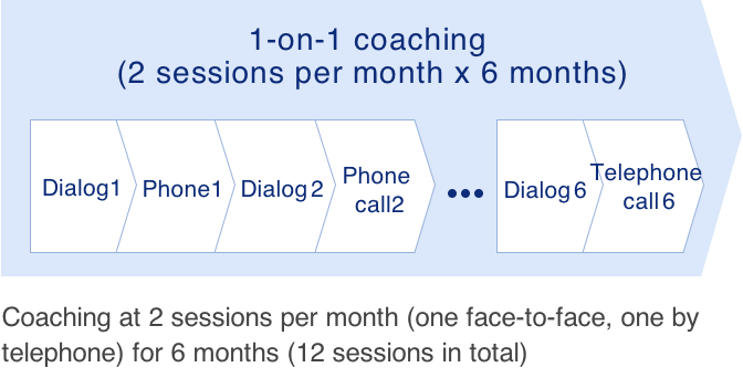 Step 2 Coaching sessions